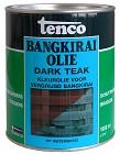 Bangkirai olie Dark teak 1000 ml