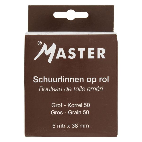 Schuurlinnen 38mm x 5m korrel 50