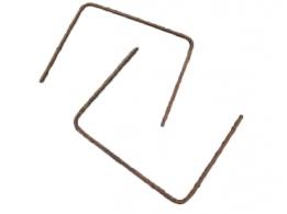 Koppelhaarspelden 95-30-95 cm Ø 12