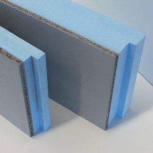 Geisol. kantplank 400mm(dikte 50+10 mm)