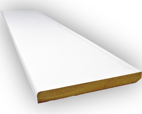 Plint MDF V313 Wit gegrond 9x45mm 488cm