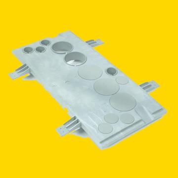 pvc Meterkast vloerplaat standaard