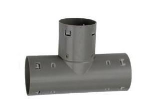 pvc drain t-stuk 80 mm.