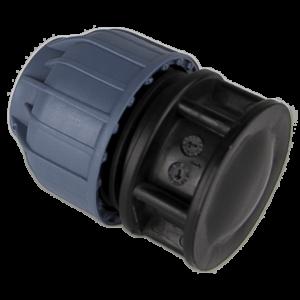 pvc tyl. eindstop klemkoppeling 25mm