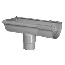 Kraalgoot Gootuitloop Links 150 mm