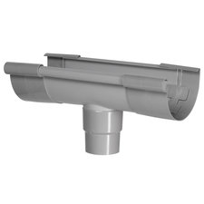 Kraalgoot Gootuitloop Midden 150 mm