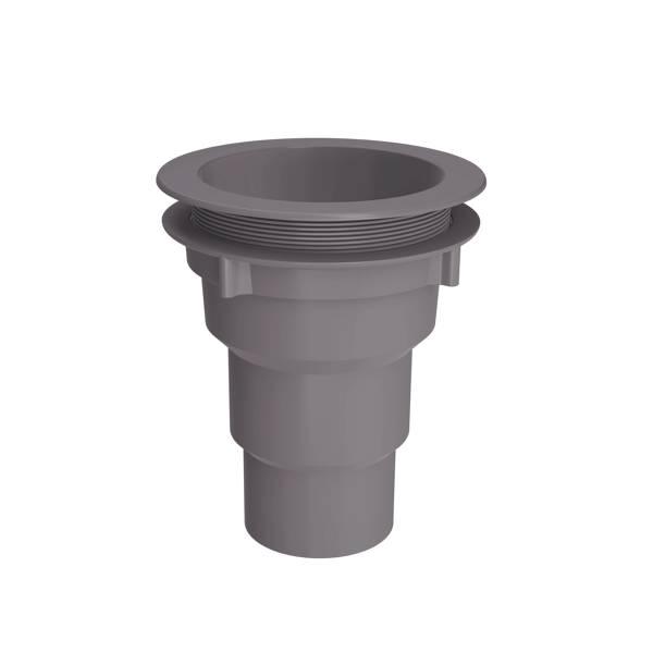 Bakgoot Gootuitl. + wartel 70-80-100 mm