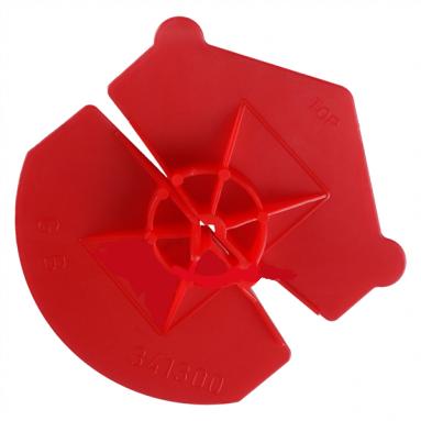 Univers clips voor spouwanker 3,6-4,5mm