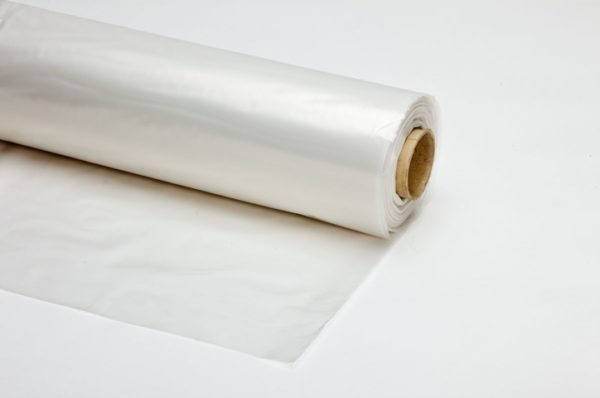 Plastic folie transparant 200cm rol 50m