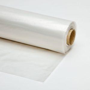 Plastic folie transparant 400cm rol 50m
