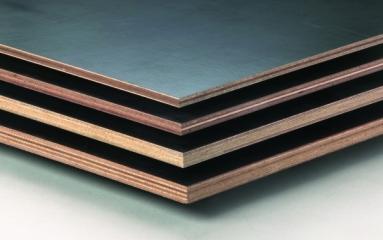 Beton Multiplex berken 125 x 250 cm 4 mm