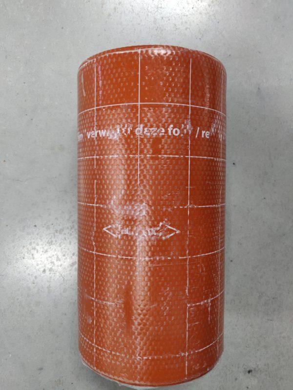 Leadex loodvervanger rood 33cm x 6m