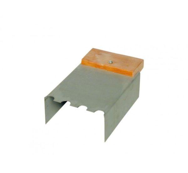 Lijmkamschep voor gasbeton 70 mm