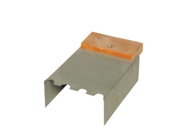 Lijmkamschep voor gasbeton 100 mm