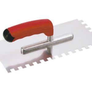 Plaksp. Get. 6mm RVS softgrip 280x130mm