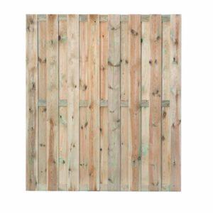 Tuinscherm Solide 15-planks 180x180cm