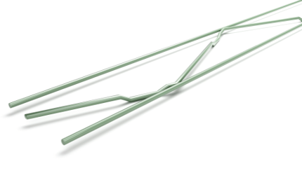 Murfor gecoat (groen) lengte 3,05m 50 mm