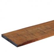 Hardhout ruw plank Angelim 20x200mm