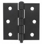 Scharnier 63x63 losse pen Zwart set á 2 stukss rechte hoek