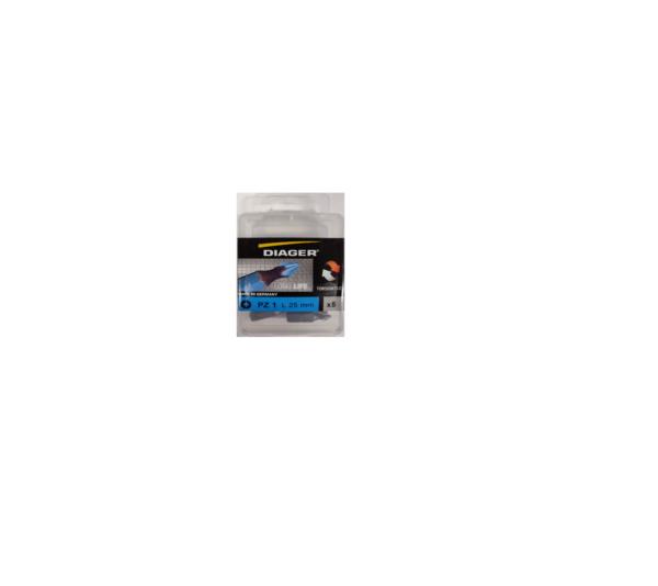 Diager® Torsion bit pz-3 25mm 5st per blister
