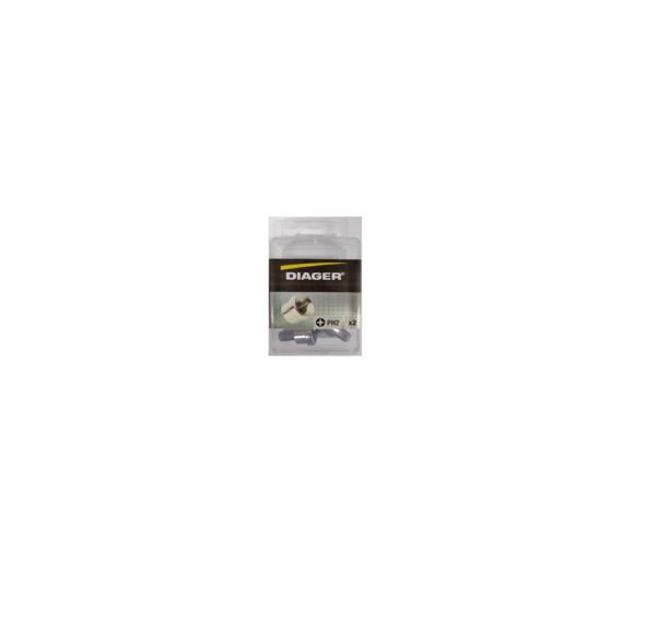 Diager® gipsplaatbit ph-2 25mm 5st per blister