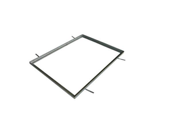 Verzinkte rand tbv vloerluik (80x60cm)