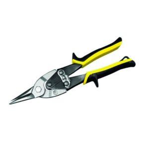 Blikschaar geel figuur 240mm