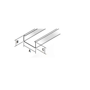 27mm profiel L=4,00m