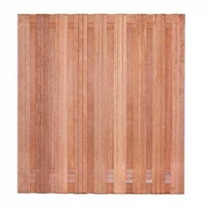 Tuinscherm Solide hardhout 180x180cm
