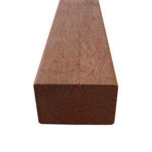 Hardhout geschaafd balken Angelim o.g. 50x100 mm