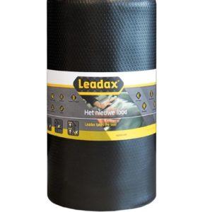 Leadex loodvervanger zwart 33cm x 6m