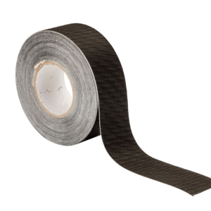 Foliefol multitop spinvlies tape 0.06 x 25m zwart