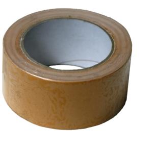 Foliefol tape PP dubbelzijdig L25m wit